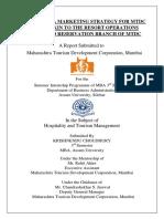 Internship Report of Krishnedu Choudhury
