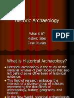 Historic Archaeology