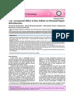 Jurnal Zinc Hiperbilirubinemia