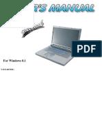 Manual - Clevo P150 P151SM P170 P171