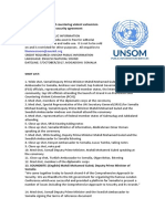 Preventing and countering violent extremism boosted with Somalia security agreement