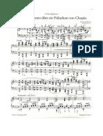 Busoni 10 Variazioni Su Tema Di Chopin