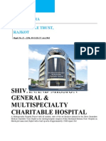 Project of Shree Shivanand Mission Trust Hospital Rajkot
