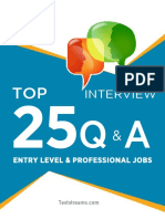 Top 25 Interview Questions