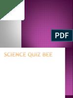 Science 7 Quiz Bee