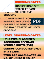 LEVEL CROSSING GATES Indian Railways
