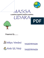 Power Point Massa Udara