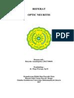 Optic-Neuritis Referat Mata Banjar