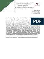 Alguns Transferenciais de Um Caso Clínico - Risk, E. N., Arantes, E., & Santos, M. a.