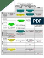 Elektrik - Elektronik Mühendisliği 2017-2018 Güz Dönemi Ders Programı