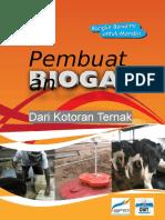 Booklet Pembuatan BIOGAS Dari Kotoran Ternak