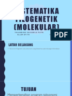 Sistematika Filogenetik (Molekular)