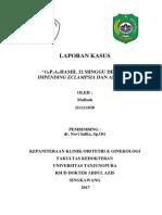 Lapkas Impending Eclampsia (Repaired)