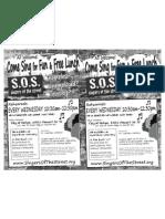 SOS-flyer