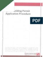 Building Permit Application Procedure