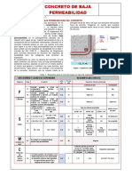 BT FG 001 2017 Concreto de Baja Permeabilidad