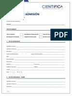 Solicitud de Admisión - Preferencia Académica 2018-I (1)