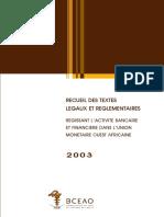 Textes de Base Recueil Des Textes Legaux Et Reglementaire