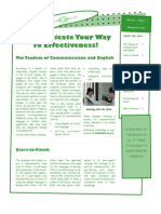 Strengthening Communication in Your Organization