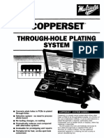 Copperset - Through-hole Plating System