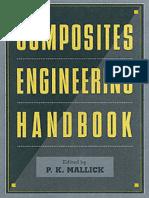 Composites Engineering Handbook - P.K. Mallick