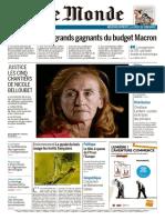 Le Monde & 2 Supplémen_sdu Dimanche 8 Et Lundi 9 Octobre 2017 - Copie