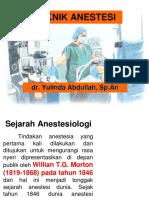 Kp 4.2.1.2 Teknik Anestesi