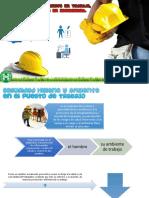 Riesgos en El Puesto de Trabajo, notificaciones y pplanes de emergencia