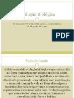 Aula 4 - Evolução Biológica