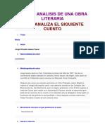 Guia de Analisis de Una Obra Literaria