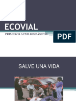 ECOVIAL PRIMEROS AUXILIOS