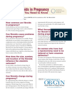 Fibroids in Pregnancy