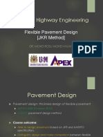 12. Flexible Pavement Design - Jkr