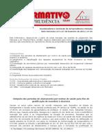 Informativo consolidado 2011