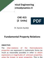 CHE 415 Note 2