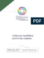 Violencia Mediatica - Defensoria Del Publico 0