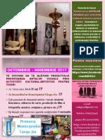 afis AIDS Promovarea ARTELOR VIZUALE prin activități cultural-artistice pentru TINEri