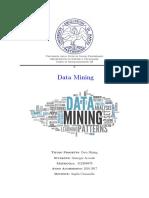 Relazione Giuseppe Accardo - Data Mining e Java