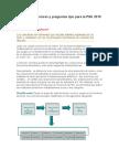 Tipos de Conectores y Preguntas Tipo Para La PSU 2010