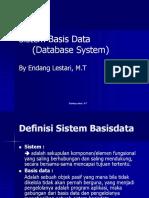 2 Sistem Basis Data (Database System)