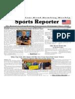 October 11 - 17, 2017  Sports Reporter