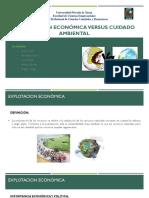 econnomia amiental vs impacto ambiental