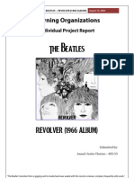 Beatles Revolver - A Learning Organizations Perspective