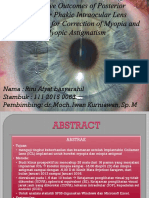 Refractive Outcomes of Posterior