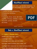 1e - Klasifikasi Mineral