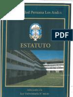 Mv1.Estatuto de La Universidad Peruana Los Andes Adecuado a Ley Universitaria 30220