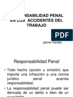 Responsabilidad Penal en Los Accidentes Del Trabajo