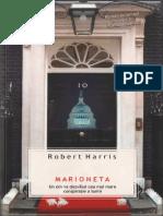 Robert Harris-Marioneta