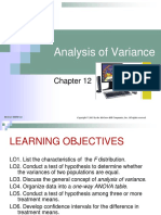 Chap012 Analysis of Variance