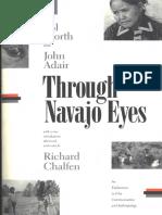 Worth, Sol & Adair, John - Through Navajo Eyes_COMPLETO